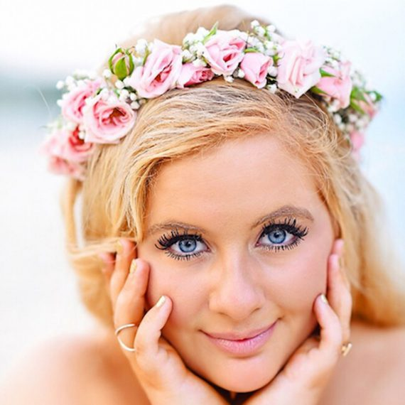 erika's boho chic flower crown